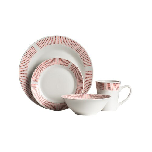 Porcelain 16 Piece Dinnerware Set Symple Stuff