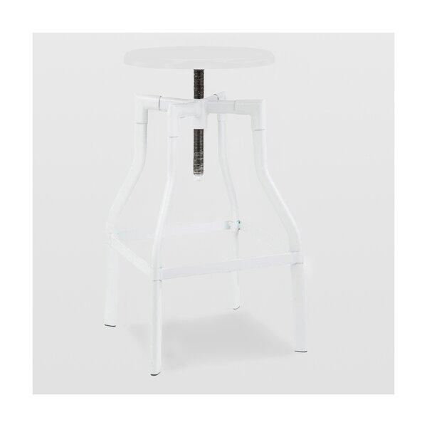 Machinist Adjustable Height Swivel Bar Stool By Design Lab MN Best Design