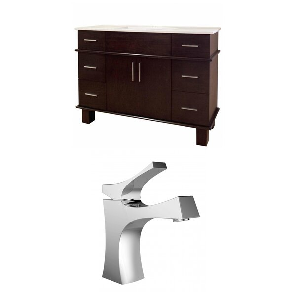 Heideman 48 Single Bathroom Vanity Set by Royal Purple Bath Kitchen