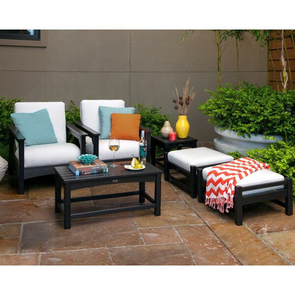 Club 6 Piece Seating Group with Cushions by POLYWOOD®