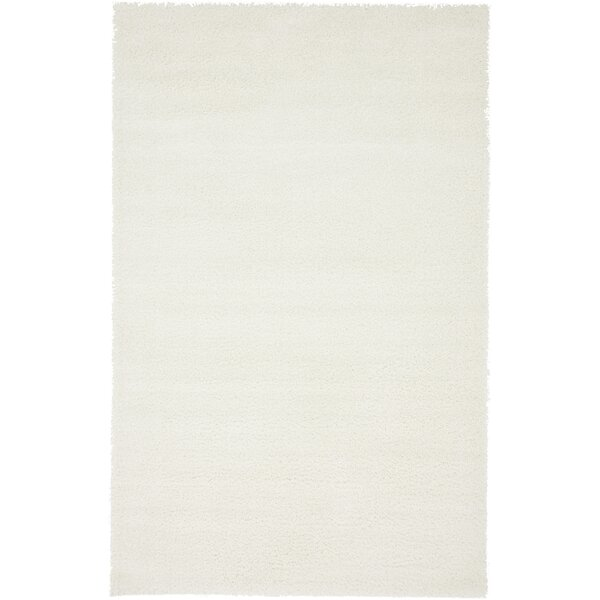 Kostka White Area Rug by Zipcode Design