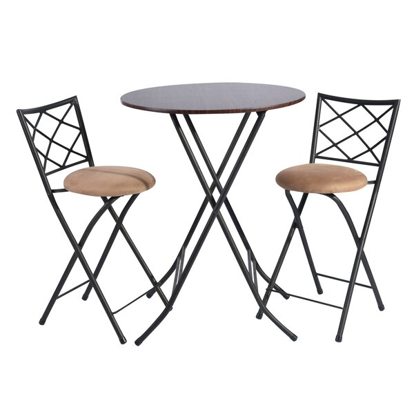 Urbanna 3 Piece Pub Table Set by Fleur De Lis Living