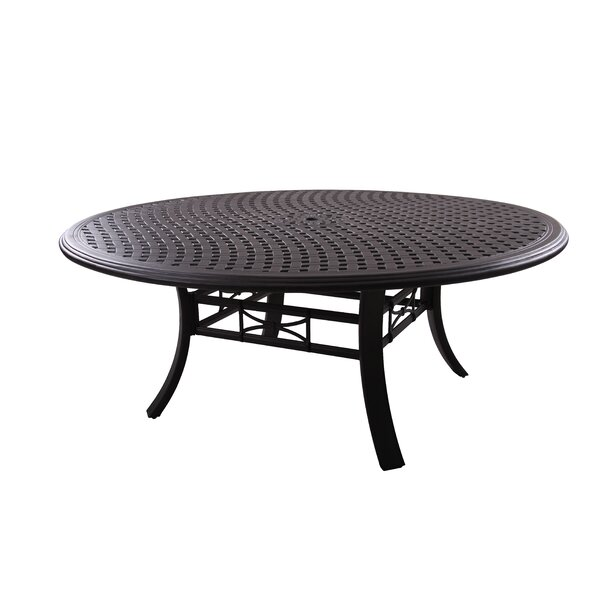 Dolby Metal Dining Table by Astoria Grand