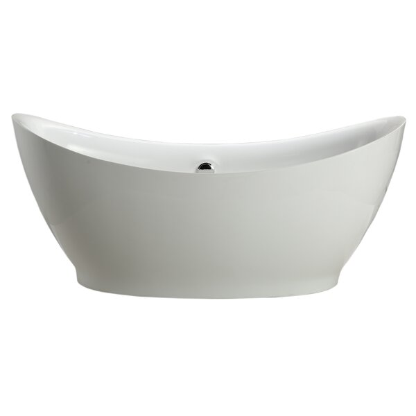 Divinity 67.5 x 31.5 Soaking Bathtub by Vinnova