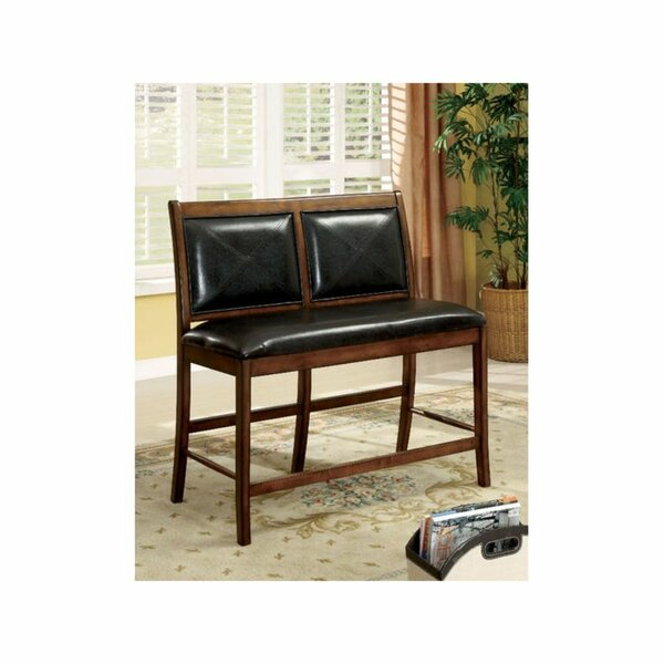 Schoenberger Upholstered Bench by Millwood Pines
