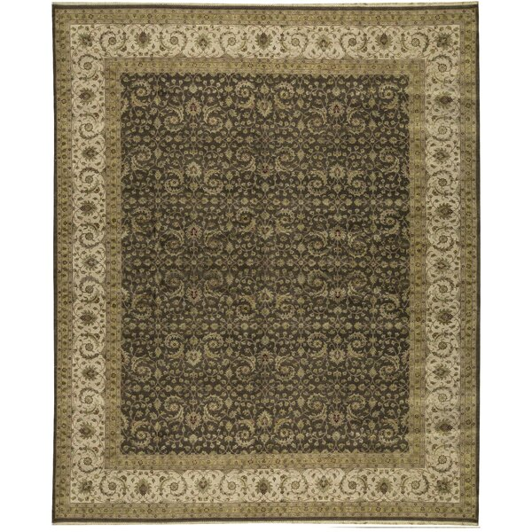 One-of-a-Kind Shamas Hand-Knotted Brown/Beige 12'1 x 14'11 Area Rug