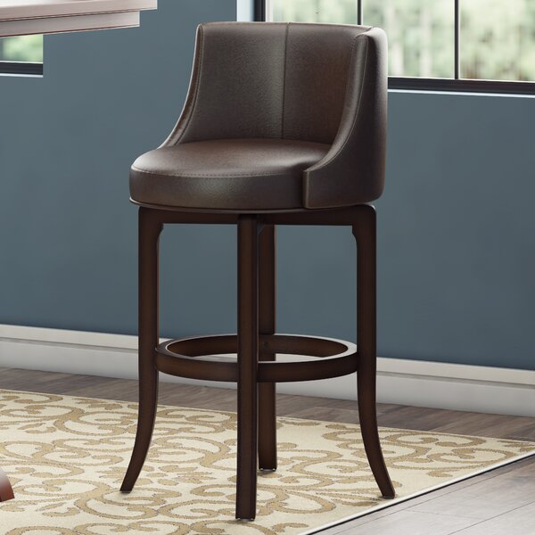 Croskey 29.75 Swivel Bar Stool by Darby Home Co