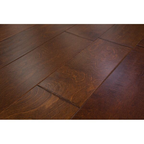 Athens 6-1/2 Engineered Birch Hardwood Flooring in Sunset by Branton Flooring Collection