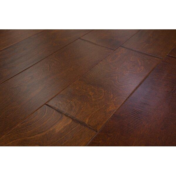 Athens 6-1/2 Engineered Birch Hardwood Flooring in Sunset by Branton Flooring Collection