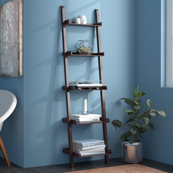 Pfaff 5-Tier Ladder Bookcase By Andover Mills