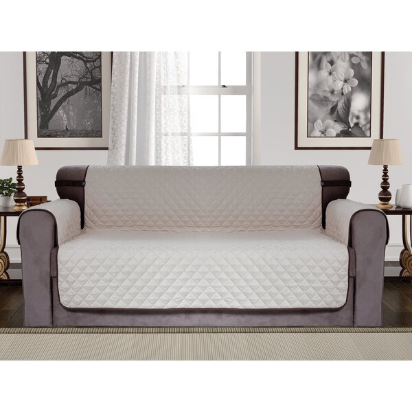 Diamond Reversible Box Cushion Sofa Slipcover By Red Barrel Studio