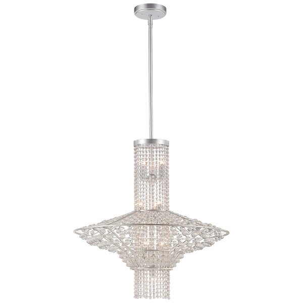 Saybrook 10-Light Crystal Chandelier by Metropolitan by Minka