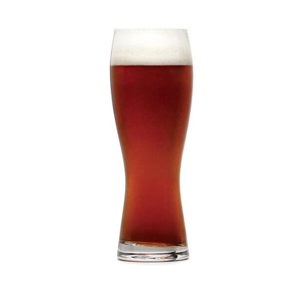 Barmasters 28 oz. Crystal Pint Glass (Set of 4) by Mikasa