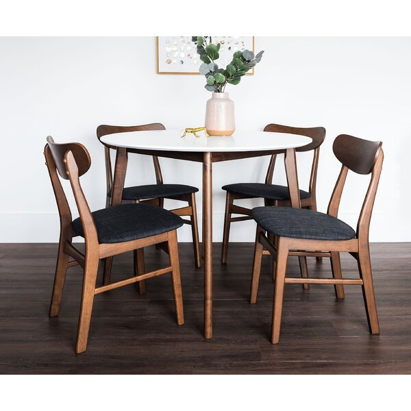 Bloomquist Round 5 Piece Dining Set by Corrigan Studio