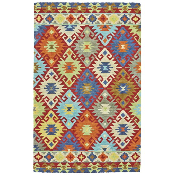 Halcott Hand Tufted Sunset Indoor/Outdoor Area Rug by World Menagerie