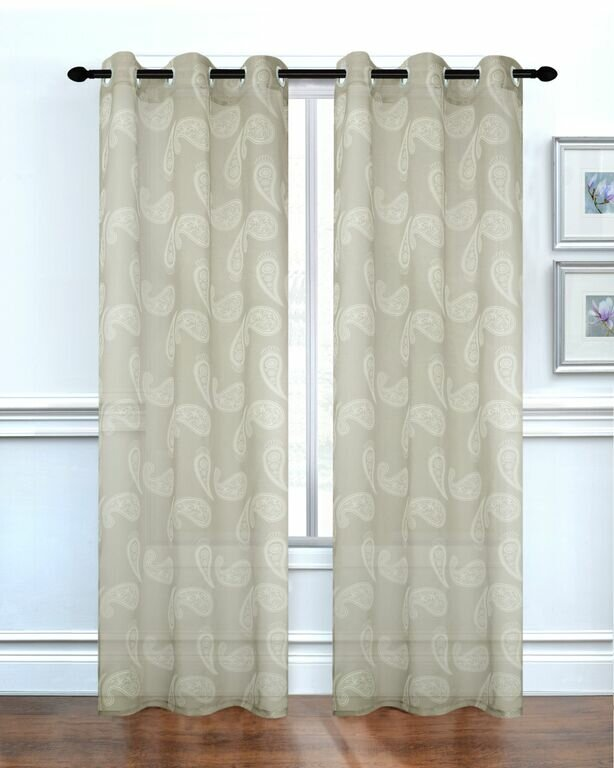 Dainty Home Paisley Curtain Panels