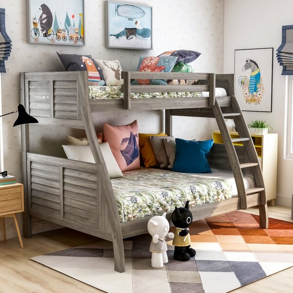 Jauregui Twin Over Full Standard Bed by Harriet Bee