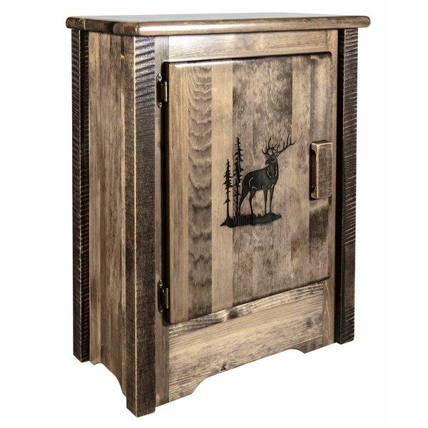 Abella 1 Door Accent Cabinet by Loon Peak Loon Peak