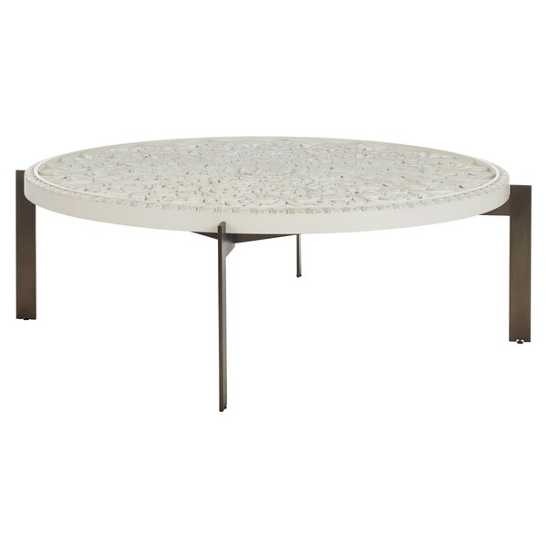 Zak 4 Legs Coffee Table By Bungalow Rose