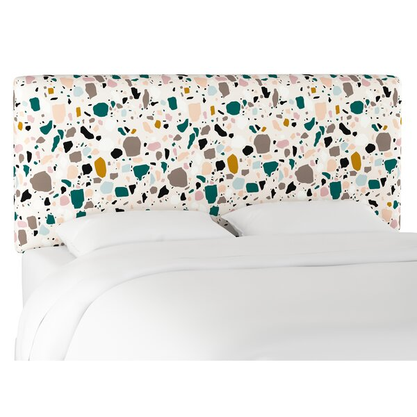Thoa Upholstered Panel Headboard by Wrought Studio