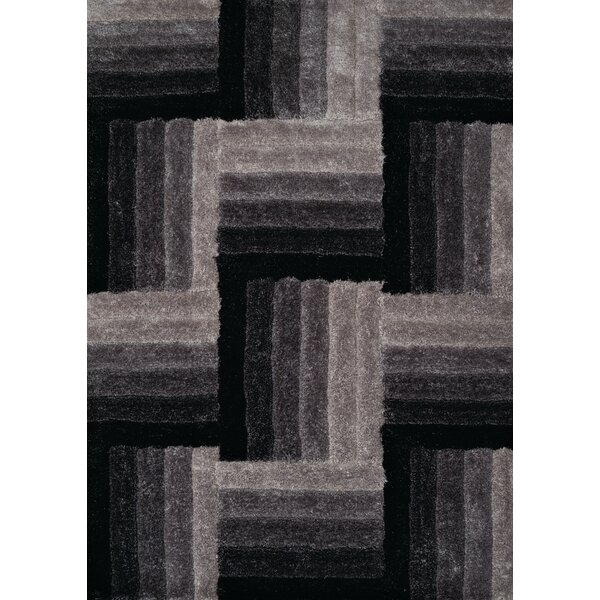 Finesse Hand-Woven Black Area Rug by United Weavers of America