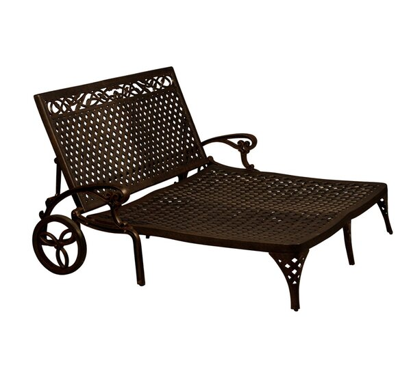 Aldrich Double Chaise Lounge by Darby Home Co