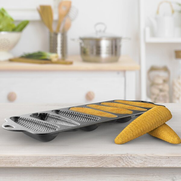 Cast Iron Cornbread Pan by Classic Cuisine