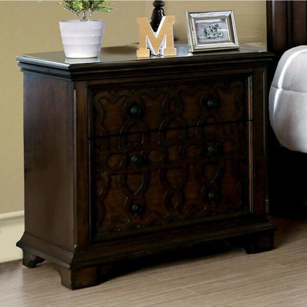 Eichler 3 Drawer Nightstand by Darby Home Co