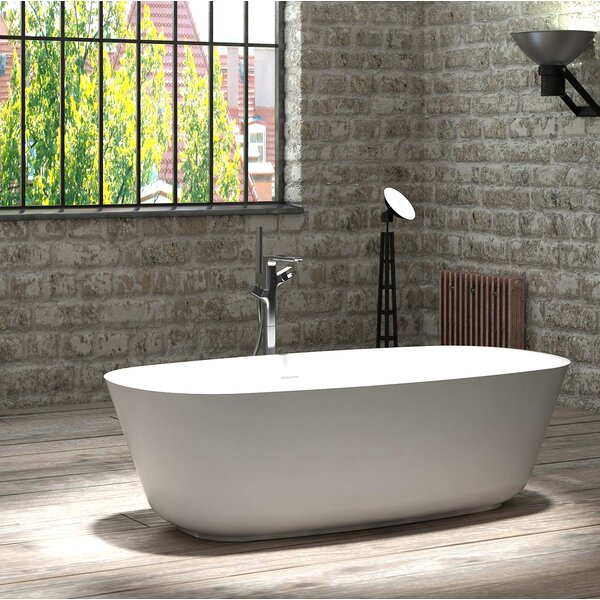Hermosa 71 x 35 Freestanding Soaking Bathtub by CastelloUSA