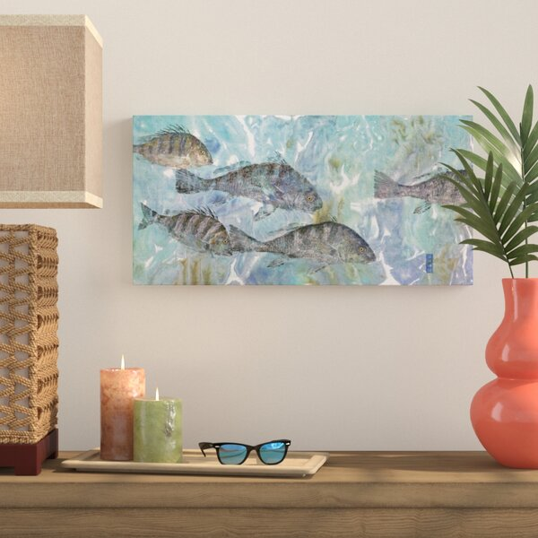 Spring Run Wall Art on Wrapped Canvas by Bay Isle Home