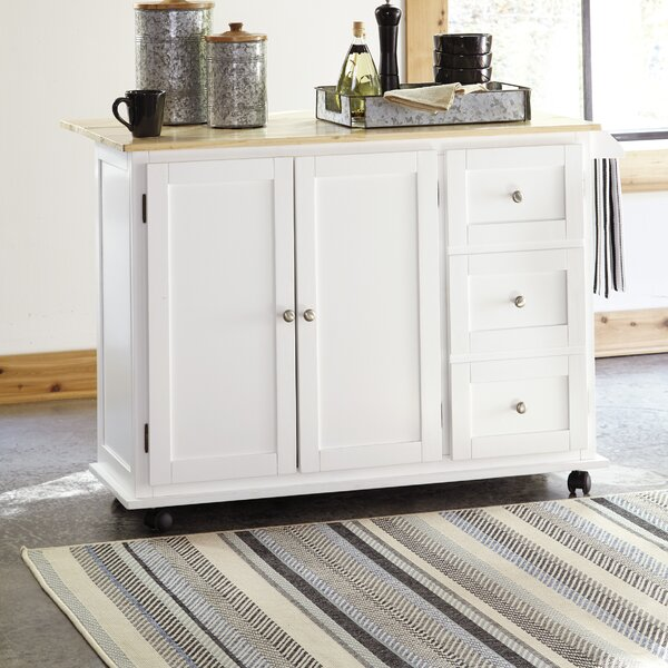 Swafford Kitchen Cart by Winston Porter