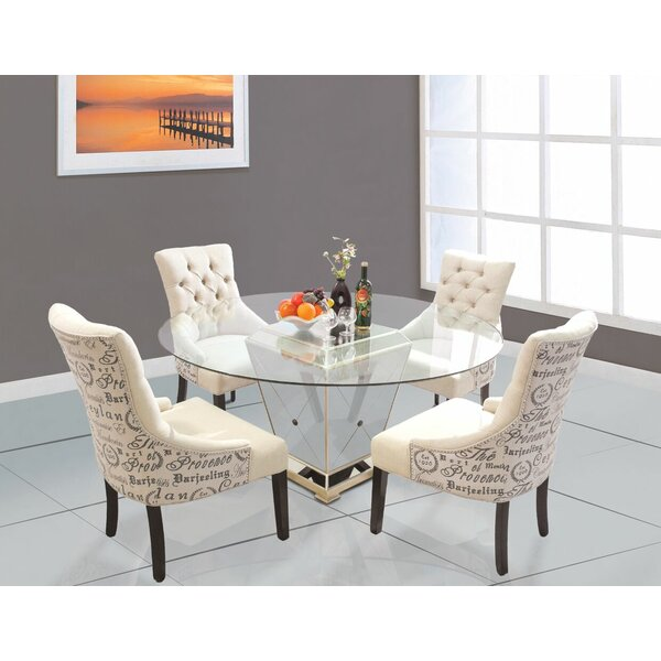 5 Piece Dining Set by BestMasterFurniture
