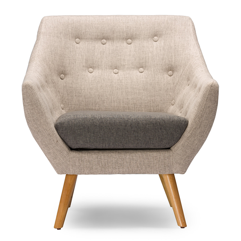 Exceptionnel Brayden Studio Slone Mid Century Fabric Armchair U0026 Reviews | Wayfair