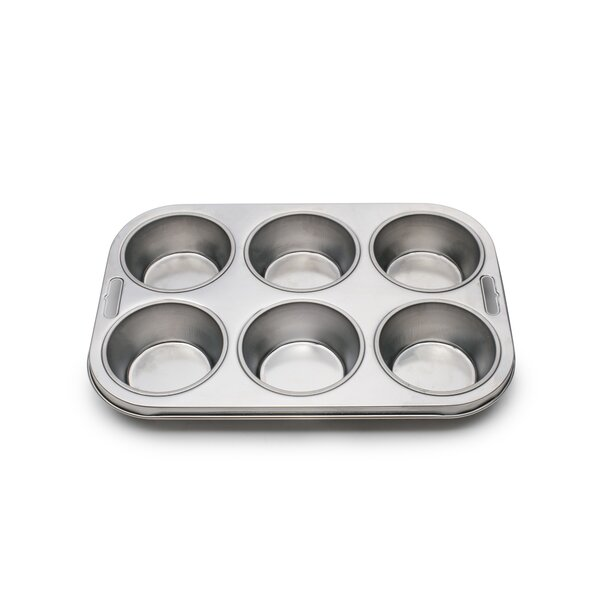 6 Cup Muffin Pan by Fox Run Brands
