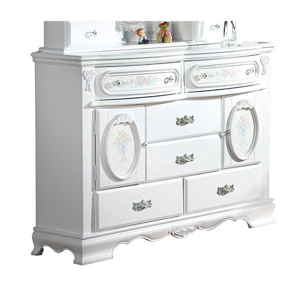 Schaub 6 Drawer Combo Dresser by Harriet Bee