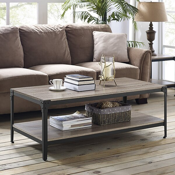 Top Reviews Cainsville Coffee Table with Storage by Greyleigh