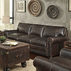Genesis Leather Sofa by Lazzaro Leather