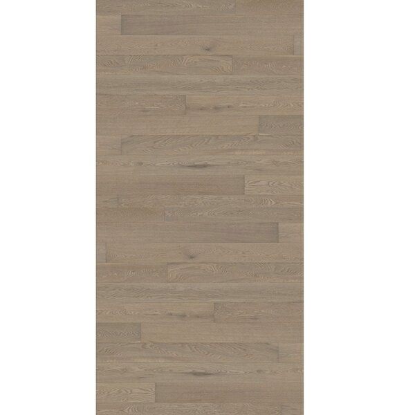 Linnea 4-5/8 Engineered Oak Hardwood Flooring in Pomegranate by Kahrs