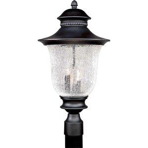 Outdoor Cast Aluminum 3-Light Lantern Head