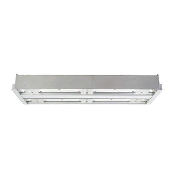 2 Bar Extra Wide Lens LED Highbay by NICOR Lighting