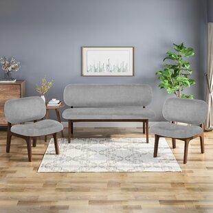 Bohl 3 Piece Living Room Set by Corrigan Studio®