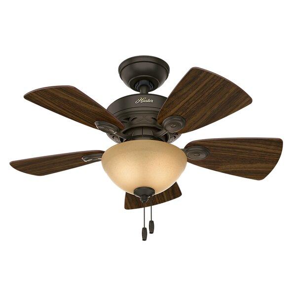 Superior Mid Century Modern U0026 Rustic Ceiling Fans Youu0027ll Love | Wayfair
