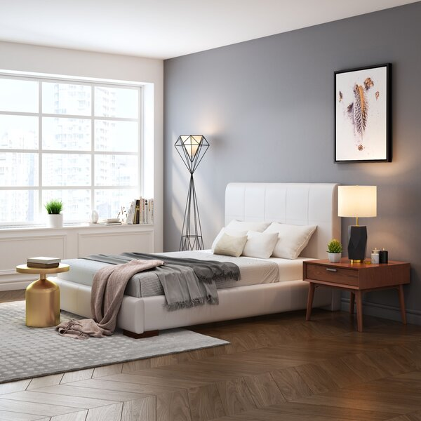 Amelie Upholstered Sleigh Bed by Orren Ellis Orren Ellis