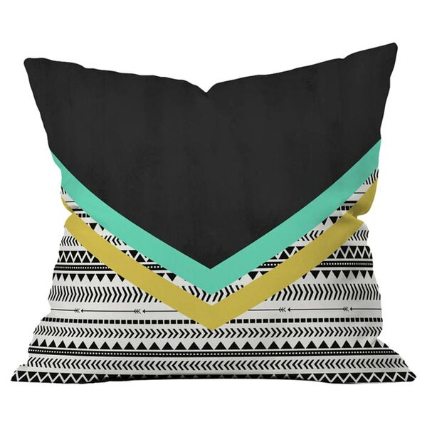 Mixed Aztec Outdoor Throw Pillow by Deny Designs