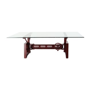 Affordable Price Kushner Industrial Rectangular Mechanical Coffee Table ByWilliston Forge