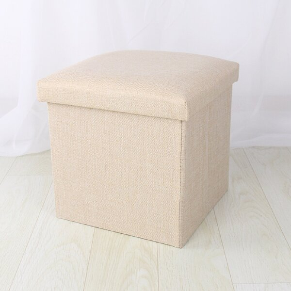 Andelo 15'' Square Storage Ottoman by Latitude Run Latitude Run
