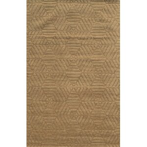 Bayonne Hand-Loomed Brown Area Rug