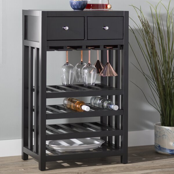 Humphries Tower Bar with Wine Storage by Andover Mills Andover Mills