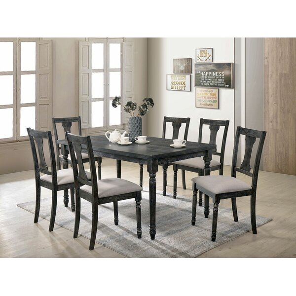 Amalfi 7 Piece Dining Set by Gracie Oaks