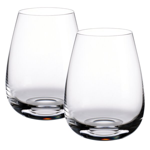 Scotch Whiskey Single Malt Islands Whisky 15 oz. Crystal Cocktail Glass (Set of 2) by Villeroy & Boch